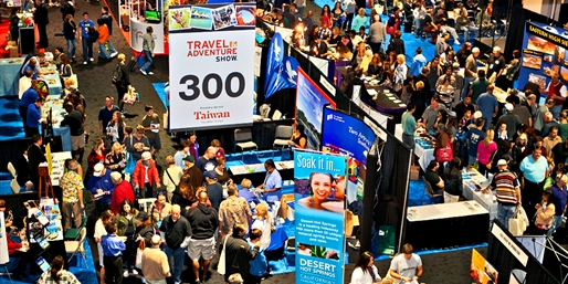 $10 -- Travel & Adventure Show: Tickets for 2, Reg. $30