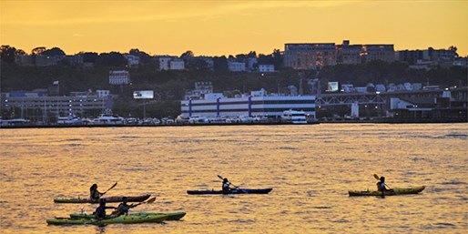 $39 -- Sunset Kayak Tour on the Hudson This Summer, Reg. $80