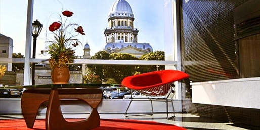 $89 -- Illinois: Springfield Hotel w/Lincoln Library Tickets