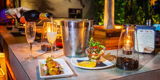 $55 -- Cafeina Wynwood: Tapas & Wine for 2, Reg. $93