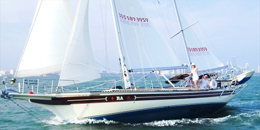 $299 -- 45-Foot Sailing Yacht Charter for 6, Reg. $500