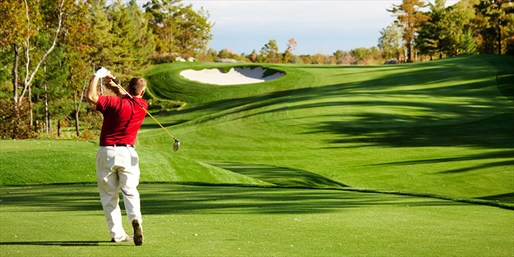 $55 -- 'Golf at Its Finest': Round for 2 w/Drinks, Reg. $116