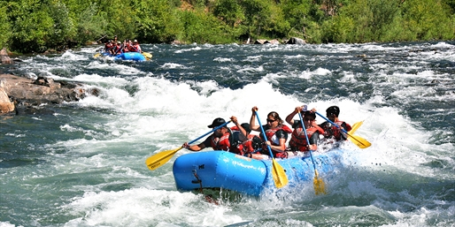 $125 & up -- 2-Day Rafting & Camping Trip w/Meals, Half Off