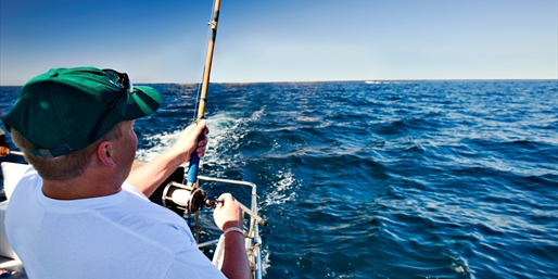 $45 -- Cape May: Half-Day Fishing Trip for 2 w/Gear, 50% Off