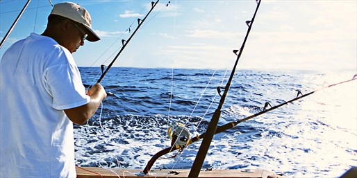 $45 -- Cape May Half-Day Fishing Trip for 2, Reg. $99