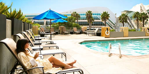 $119 -- Massage, Facial & Pool at Gaslamp Hilton, Reg. $240