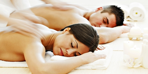$89 -- Time Out Pick Spa: Couples Massage w/Wine, Save 65%