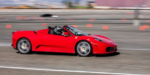 70% off, Drive a Ferrari on a Closed Autocross Course
