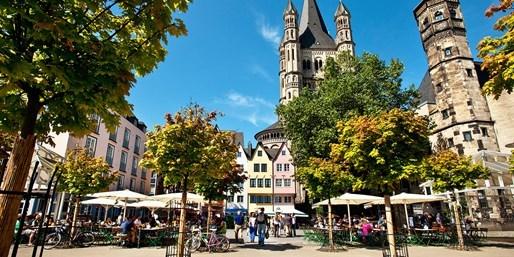84 € -- Köln: City-Auszeit im Designhotel, -44%