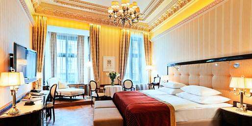 169 € -- Luxus-Suite im Karlsbader Palasthotel & Menü, -62%