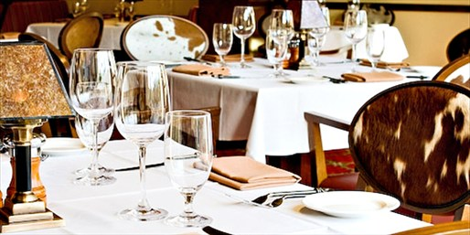 JW Marriott: Steakhouse Feast at Meritage for 2-8, Save 40%