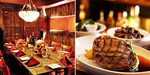 $65 -- Zagat-Praised Italian Steakhouse Dinner, 50% Off