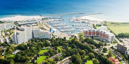 105 € -- Urlaub am Ostsee-Traumstrand & Dinner, -39%