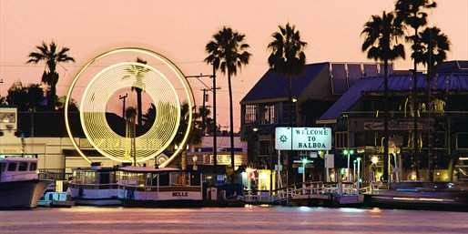 $22 -- Balboa: Cruise, Ferris Wheel & Pizza for 2, Reg. $45