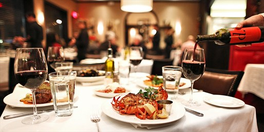 $69 -- Donato's: Acclaimed Italian for 2 w/Wine, Reg. $145