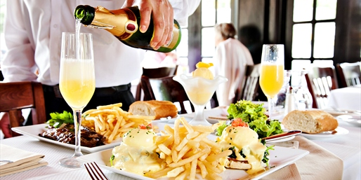 $45 -- Must-Try French Brunch for 2 w/Mimosa Bottle Service