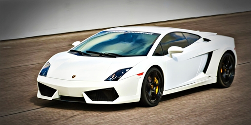 $129 -- Drive 3 Laps in Your Choice of Luxury Supercars