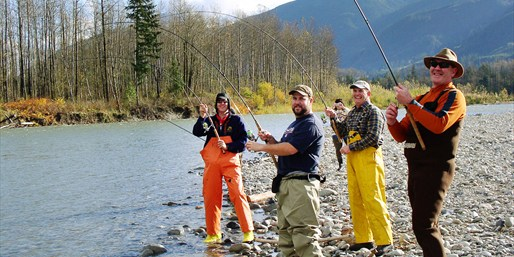 $119 -- Guided Salmon Fishing Trip into Fall, 50% Off