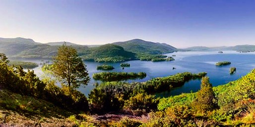 Travelzoo Deal: $225 -- Lake George Escape: 2-Night Cabin Stays w/Pedal Cart