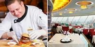 """¥288 -- 轻奢族的""""空中""""美味 人广新世界丽笙旋景餐厅双人三道式午餐 含饮品"""