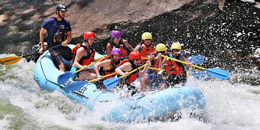 $45 & up -- 2-Night New River White-Water Rafting w/Camping