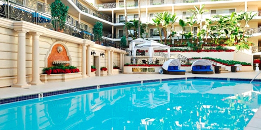 $99 -- Beverly Hills Plaza Hotel: Spa Day w/Bubbly, 40% Off