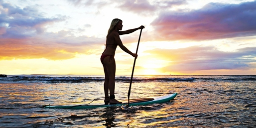 $25 -- Santa Cruz Sunset Stand-Up Paddleboard Tour, Save 55%