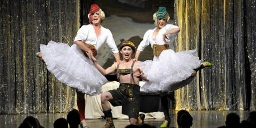 25 € -- Cabaret: Mitreißende Musical-Show im Tipi, -50%