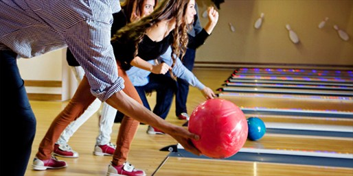 $39 -- Two Hours of Bowling for 5 w/Shoe Rentals, Reg. $72
