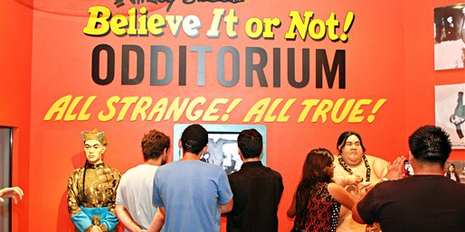 $10 -- Ripley's Believe It or Not: Day of Oddities, Reg. $19