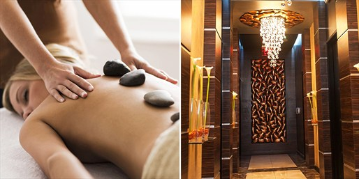 $55 -- Hot-Stone Massage at 2 Vegas Locations, Reg. $115