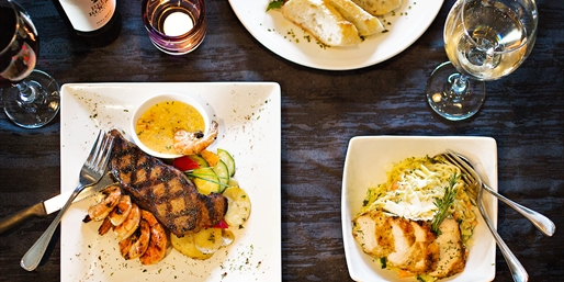$45 -- Social Resto-Lounge: Dinner for 2 in Whitby, Half Off