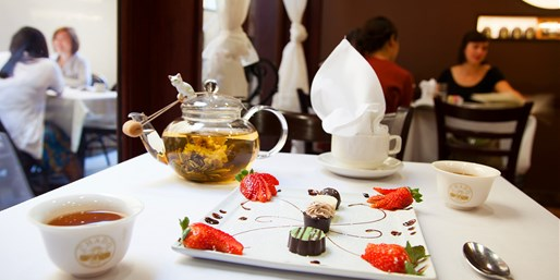 $19 -- Chado Tea Room: Tea w/Chocolate Pairings