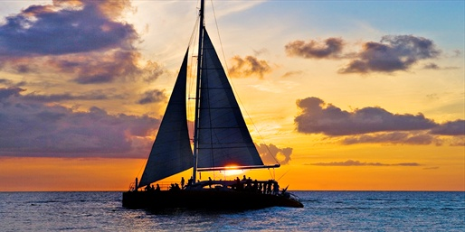 $32 -- Sunset Dinner Cruise w/'Excellent' Cuisine, Half Off