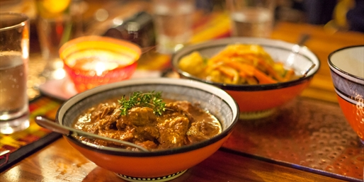 $36 -- Top-Rated Moroccan Dinner for 2, Half Off