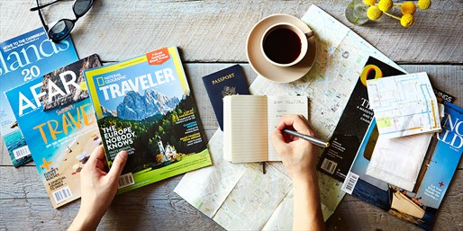 $12 -- Your Pick: Top Travel Magazine Subscriptions