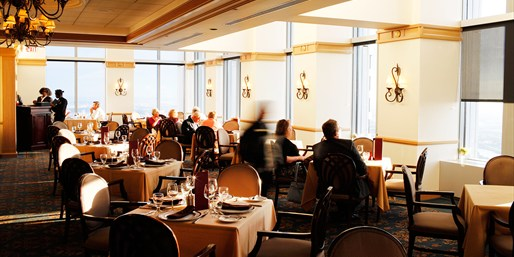 $79 -- 52nd-Floor Dinner for 2 w/Striking City Views