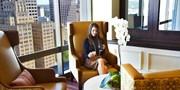 $69 -- Plaza Club: 21st-Floor Dinner for 2 w/City Views