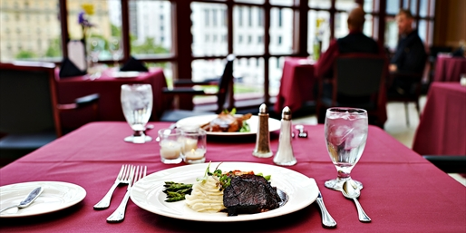 $69 -- Key Center: Private Club Dinner for 2 Downtown