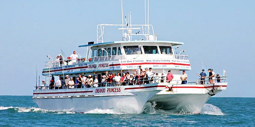 $30 -- Deep Sea Fishing Trip w/Lunch & Beer, Half Off