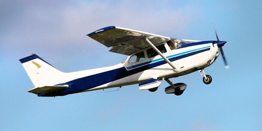 $99 -- Hands-On Flight Lesson in a Cessna 172, Reg. $255