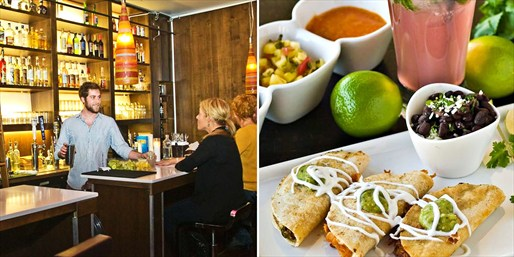$19 -- Comida Cantina: Dinner for 2 w/Drinks, Reg. $40