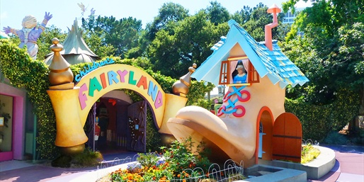 $12 -- Children's Fairyland: Family Pass for 3, Half Off