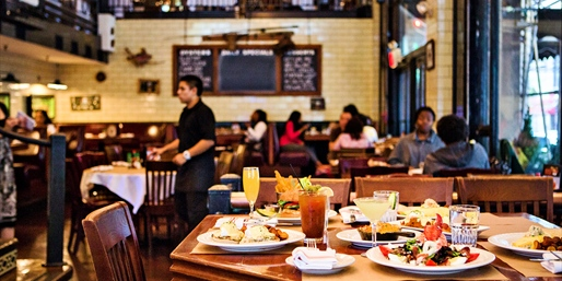 City Crab: Brunch for 2 or 4 w/Unlimited Drinks, 40% Off