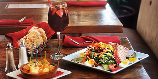 $35 -- Top 5 Tapas Spot: Dinner & Drinks for 2 at Bask