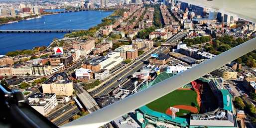 $132 -- Fly over Fenway & Downtown: Tour for 3, Reg. $285