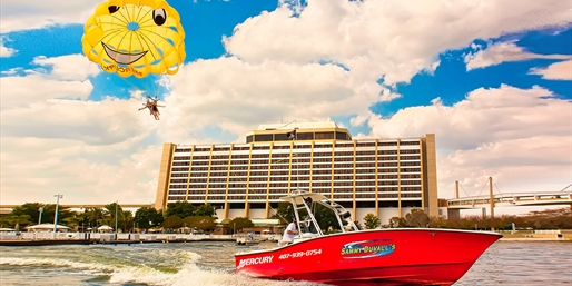 $59 -- Parasailing w/Views of Orlando-Area Attractions