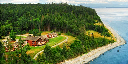 $119 -- Quadra Island 2-Nt. Oceanfront Retreat, 40% Off