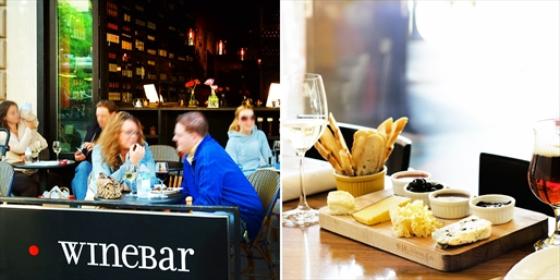 $20 -- 'Best Wine Bar': Alfresco Date Night w/$40 to Spend