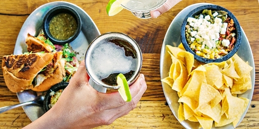 $15 -- Ay Caramba!: 'Tasty' Mexican for 2 w/Beer, 50% Off